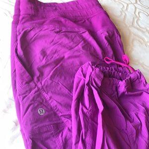 Lululemon studio pants size 12 regular, unlined